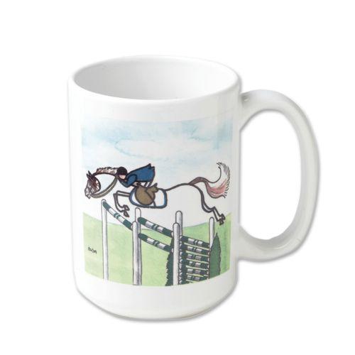 Kelley and Company Stick Horse Ceramic Mug - Jumper