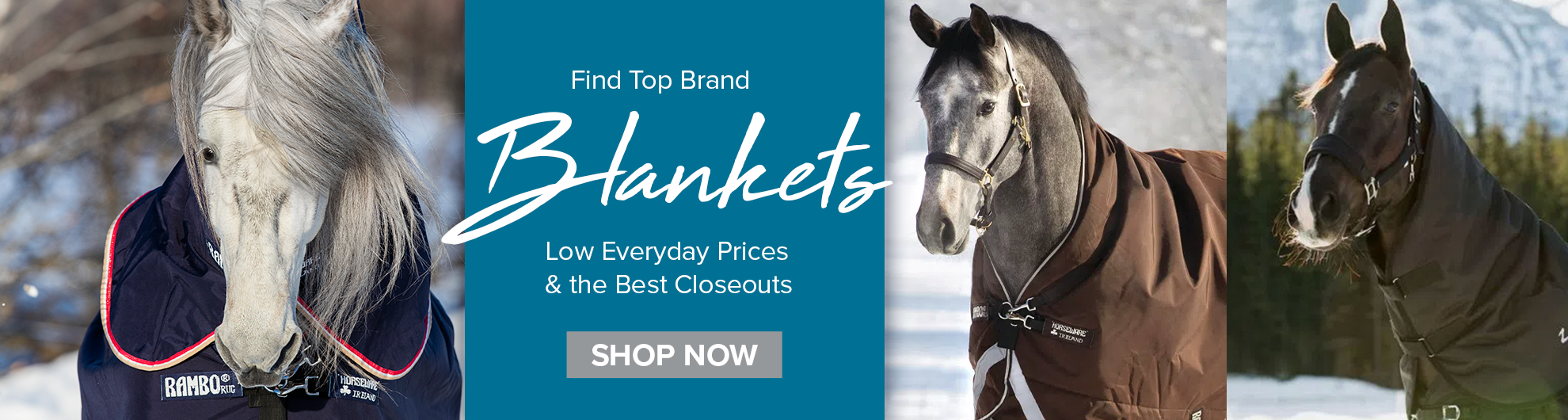 Top Brand Horse Blankets