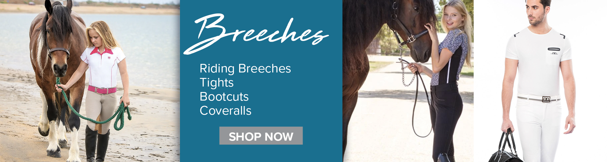 Top Brand Breeches on Equishopper