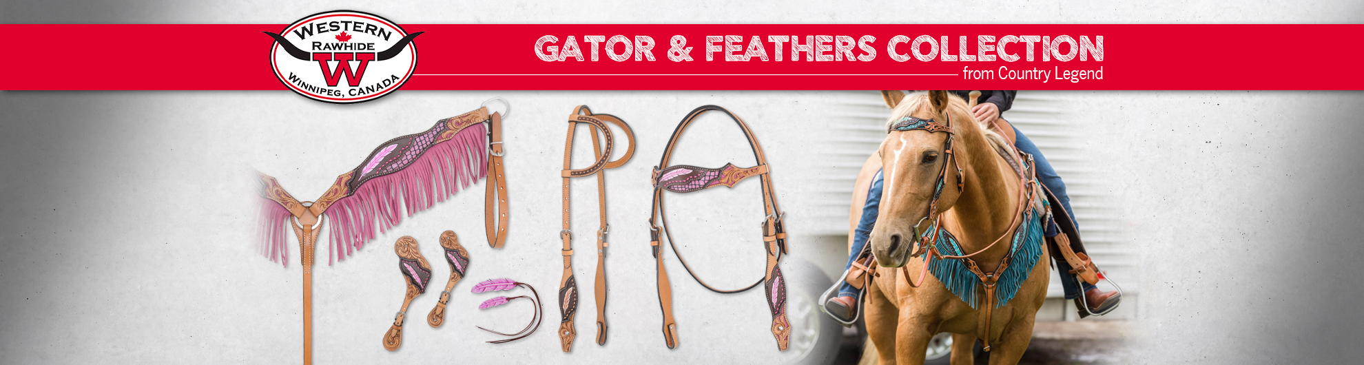 Gator & Feathers Collection from Country Legend