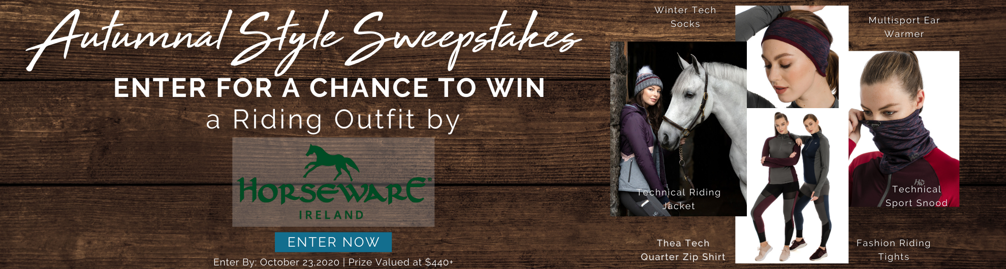 Enter the Horseware Autumnal Style Sweepstakes