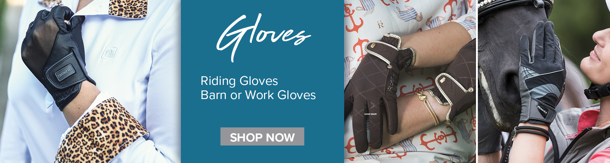 Shop for Riding & Work Gloves on Equishopper